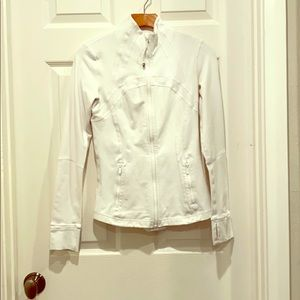 White Define Jacket